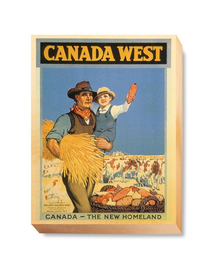 TRV 047 Travel Art Canada West