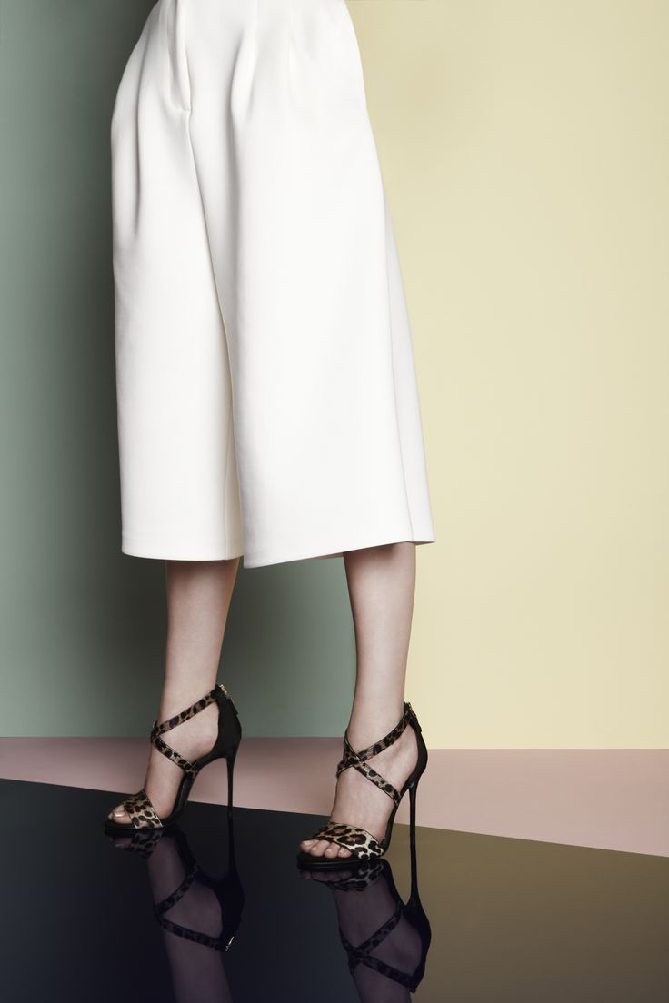 Flattered trousers