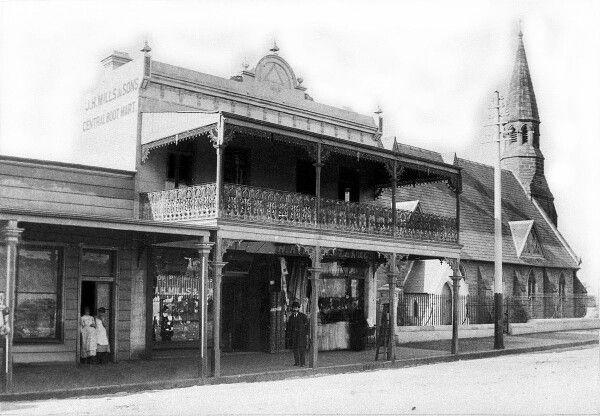 Darling St at Balmain,Sydney in 1888.A♥W