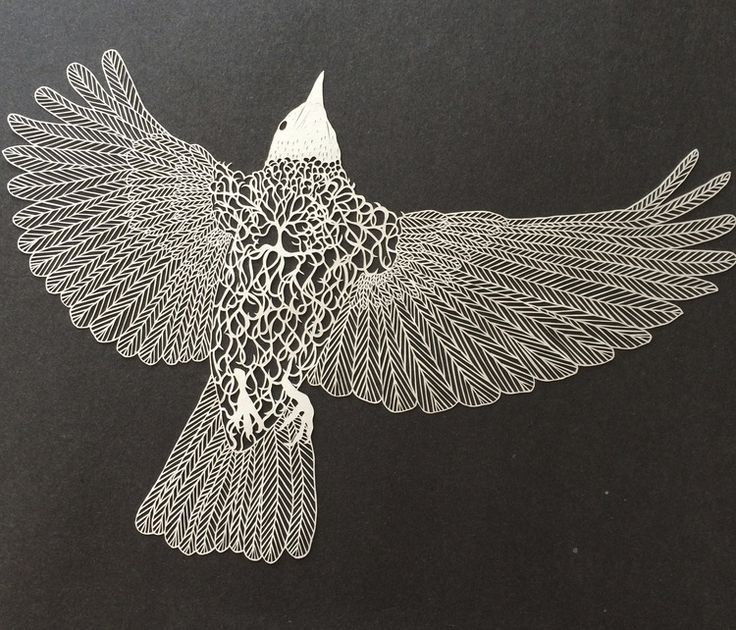 Maude White Paper Carving