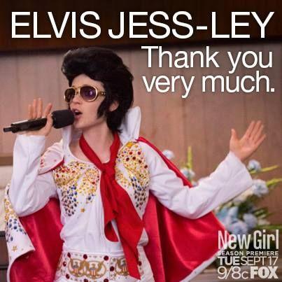 Elvis Jess-ley ~ New Girl Quotes, Season 2