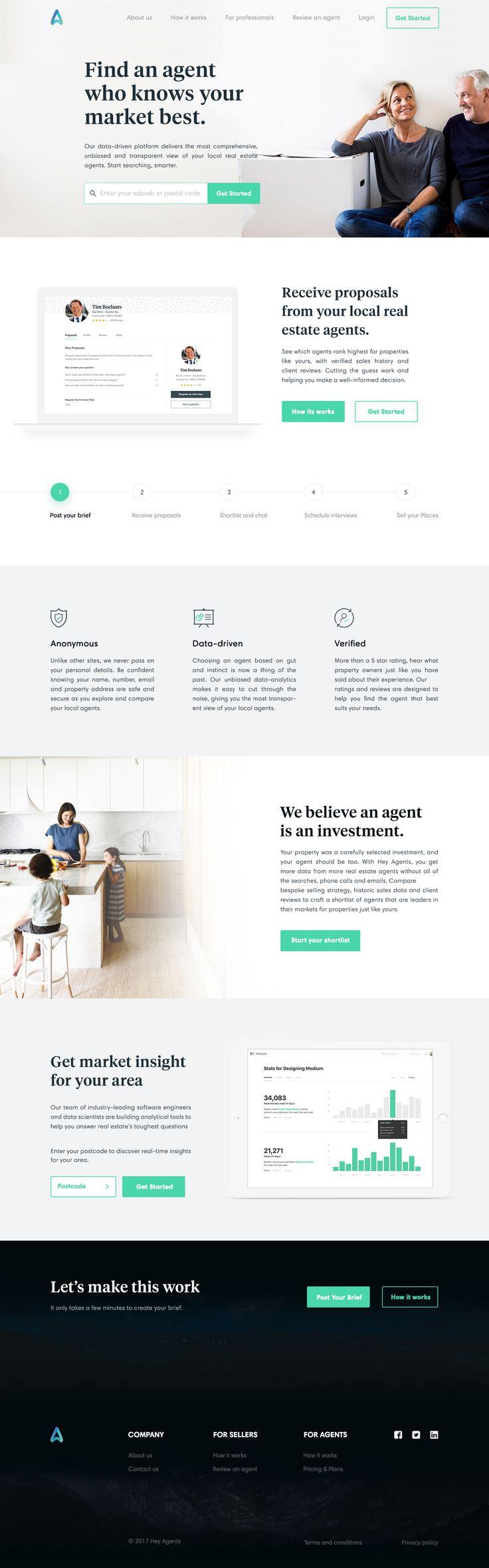 Agent Homepage Design