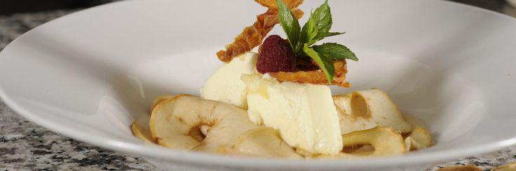 Ricetta per una zuppa al succo di mela con frutta secca e terrina di latticello - Terrina di frutta secca