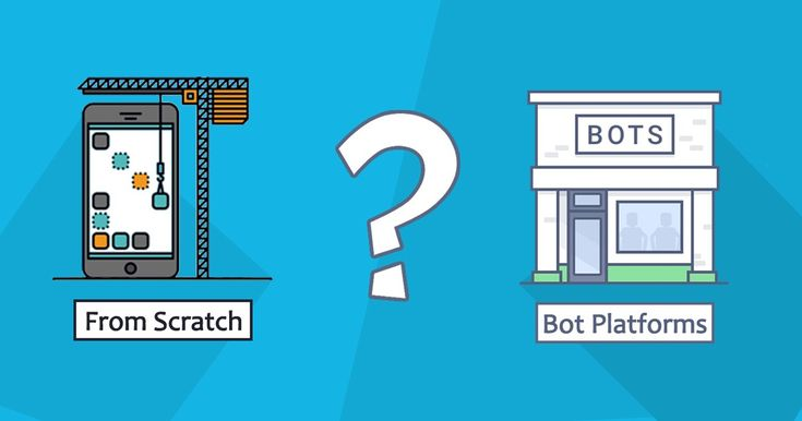 Build Chatbot from scratch or with Bot Platforms?
