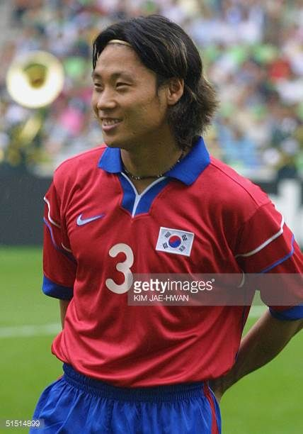 South Korean midfielder Choi SungYong smiles before the start of the FIFA Confederations Cup KoreaJapan opening soccer match between South Korea and...