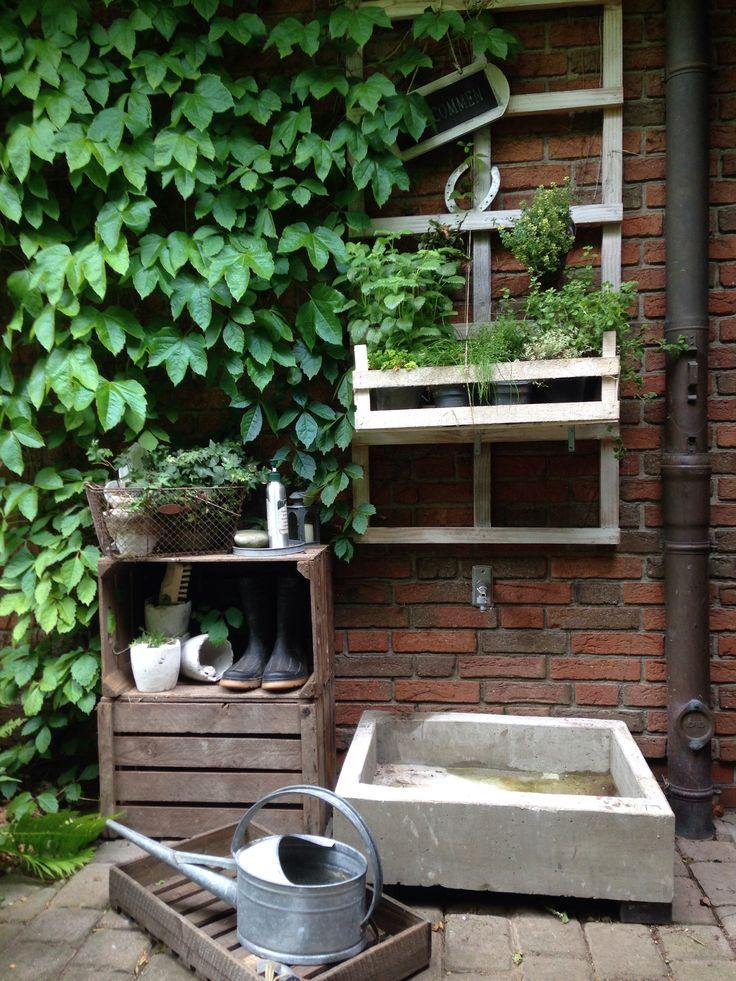 Diesen Waschtrog Habe Ich Mit Hilfe Zweier Holzkisten Und