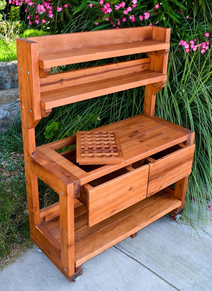 building a potting bench | Eli's Potting Benches