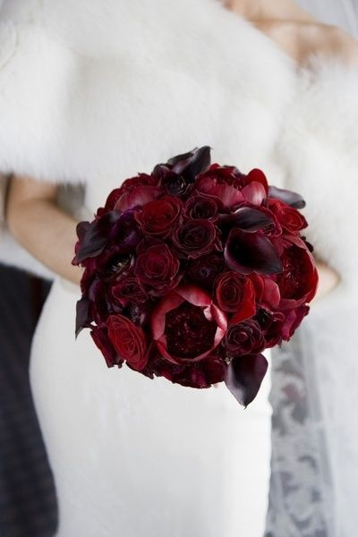 10 best bouquets bordeaux images on pinterest bridal for Bouquet de fleurs wine