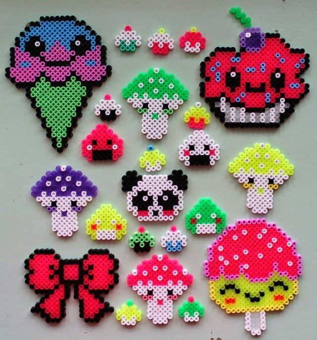 Kawaii Hama perler bead crafts by Oline Art is creative inspiration for us. Get more photo about home decor related with by looking at photos gallery at the bottom of this page. We are want to say thanks if you like to share this post to another people via your …