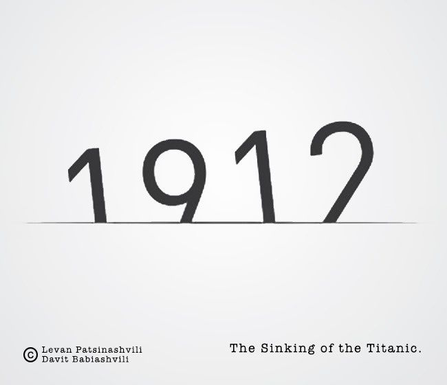 Way to Remember Historical Dates    (Titanic)