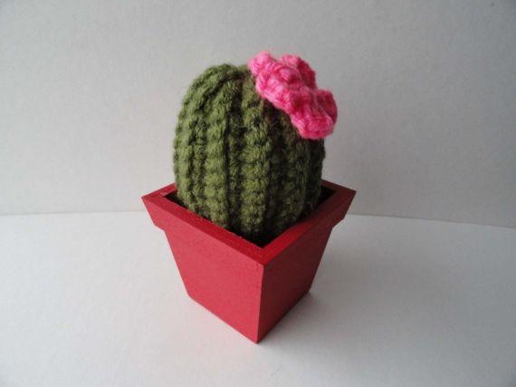 Cactus al crochet - Adornos - Casa - 6088