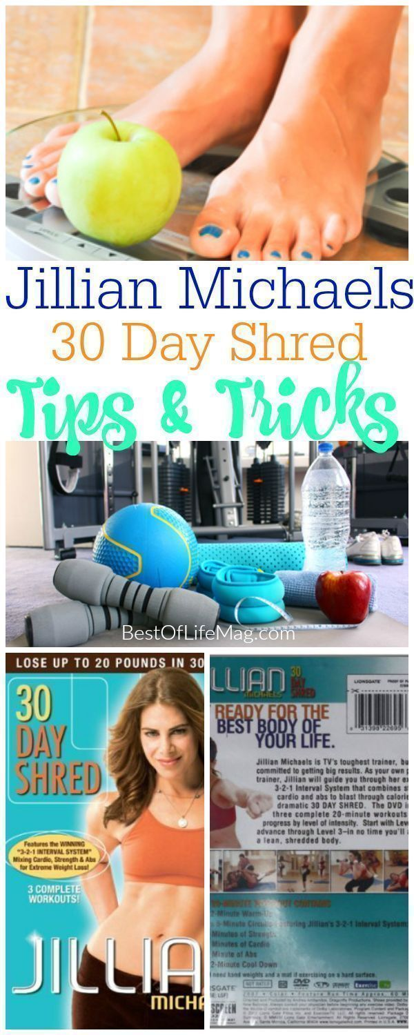 Jillian Michaels 30 Day Shred is a great plan that really ...