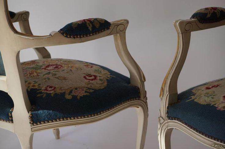 Gobelin mintás barokk szék