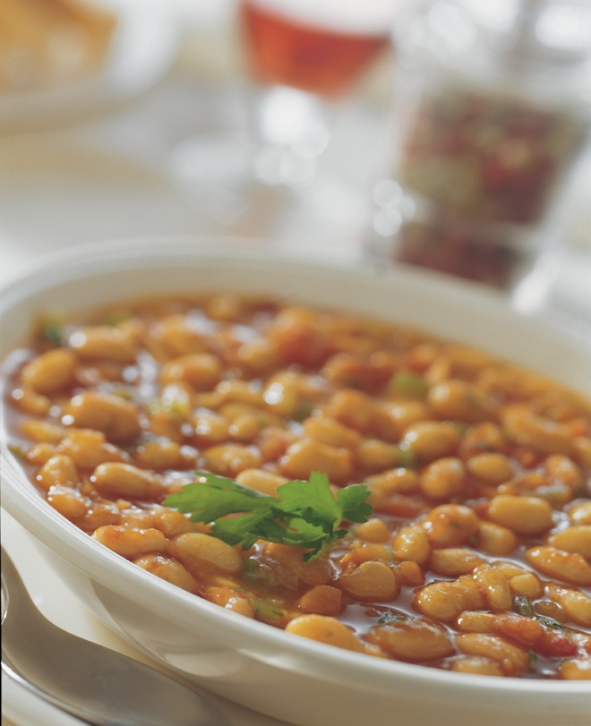 Fasolada (Greek Bean Soup)    This is a simple and extremely popular dish - some people say that this, in fact, is the real Greek national dish!