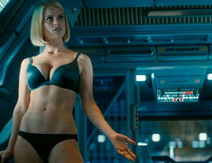 Rachel Nichols Actress Star Trek