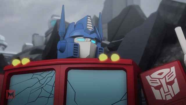 Peter Cullen on Optimus Prime in Machinima Transformers Titans Return