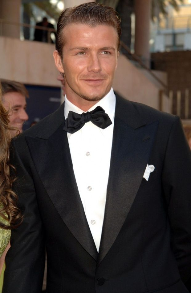 David Beckham, aged 30, in Portugual