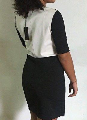 Vestito abito tubino Donna Nero cerimonia elegante Modella sera spettacolo galá