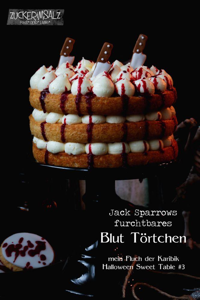 furchtbares Blut Törtchen - mein Halloween Sweet Table Teil 3