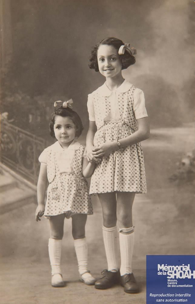 2b42e0d996d Claudine (1938-1942) and Jeanne Ferstla (1932-1942). The sisters ...