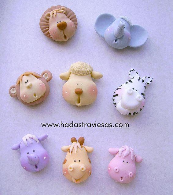 cabecitas by hadastraviesas, porcelana fria polymer clay