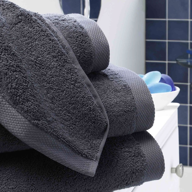 Luxury Slate Towels