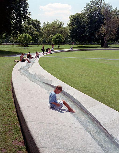 Diana_Memorial_Fountain-Gustafson-Porter-Landscape-Architecture-03 « Landscape Architecture Works | Landezine                                                                                                                                                                                 もっと見る