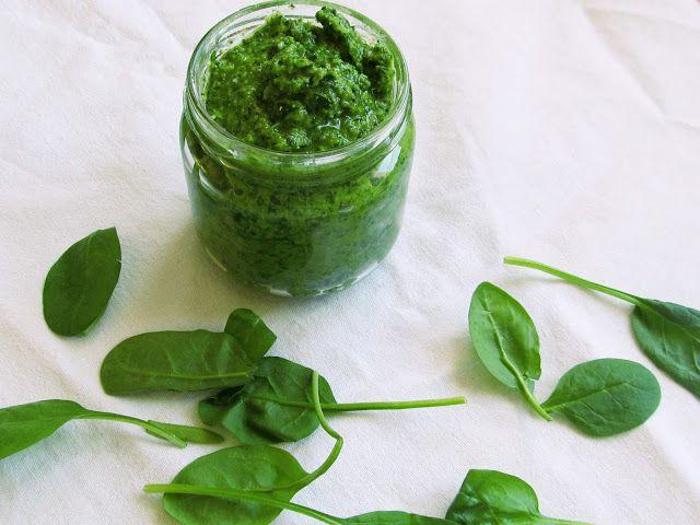Broccolicious: Špenátové pesto