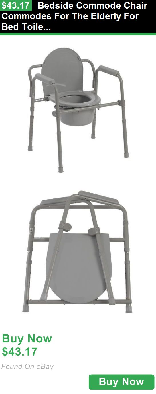 Toilet Frames and Commodes 171535: Bedside Commode Chair Commodes For The Elderly For Bed Toilet BUY IT NOW ONLY: $43.17