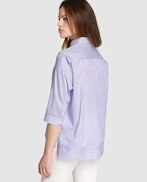 Camisa oversize de  mujer Zendra El Corte Inglés con rayas