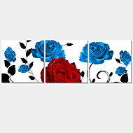 Romantisch+/+Dieren+/+Modern+Canvas+Afdrukken+Drie+panelen+Klaar+te+hangen,Horizontaal+–+EUR+€+37.23