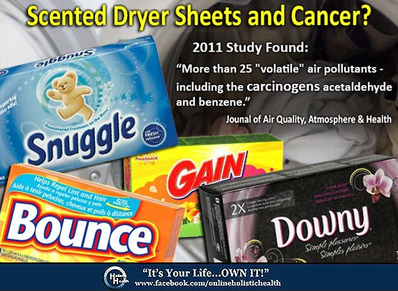 HealthFreedoms – The Toxicity of Dryer Sheets, Fabric Softeners, and Laundry Detergents