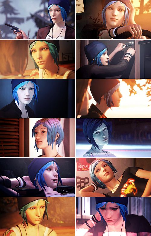 Life is Strange - Chloe Price(x) Such a great character...I loved Chloe.