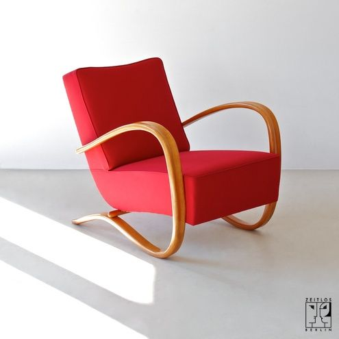 Streamline Lounge Chair by Jindrich Halabala