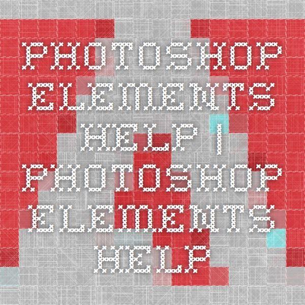 Elements Help Elements Help