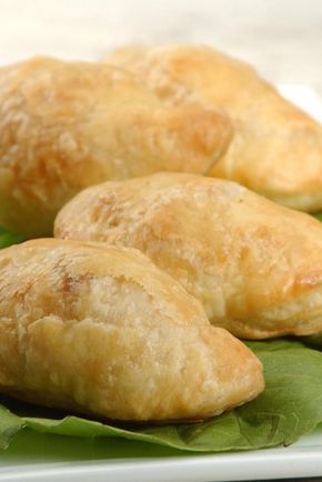 Samosas with Quick Flaky Pastry RecipeQuick Flaky Pastry 2 1/2 cups King Arthur Unbleached All-Purpose Flour 1/2 teaspoon salt 1 cup unsalted butter, chilled 1/4 to 1/2 cup ice water