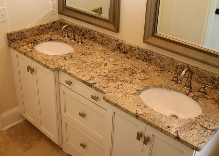 Bathroom sinks with granite countertops