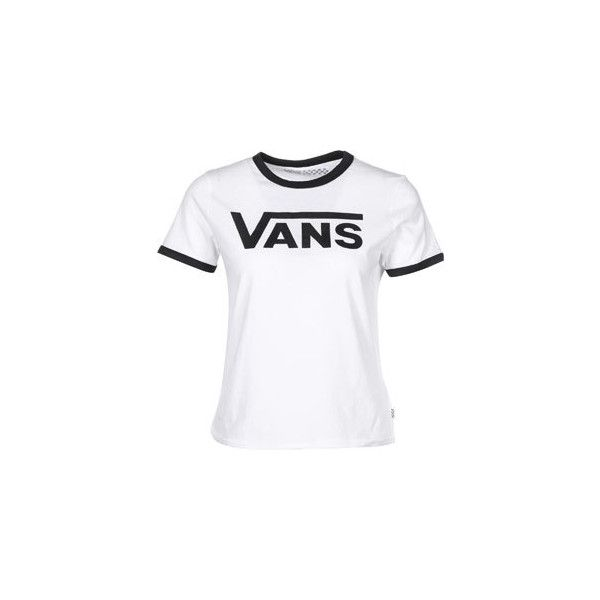 9def9b65041a6c Vans Timeless Ringer W T-shirt wit ( 41) ❤ liked on Polyvore featuring