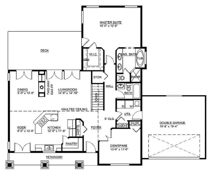 2 Story House Floor Plans And Elevations 110 best house plans images on pinterest | architecture, small