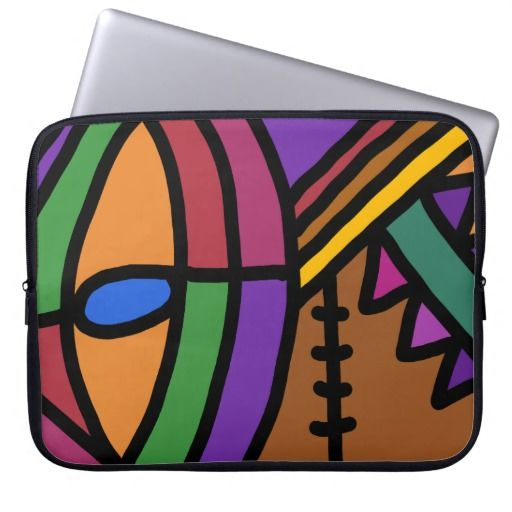 Colourful Laptop Sleeve 15''