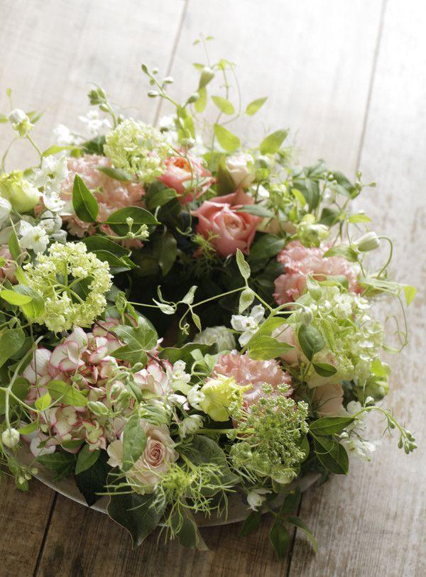 sweet flower wreath