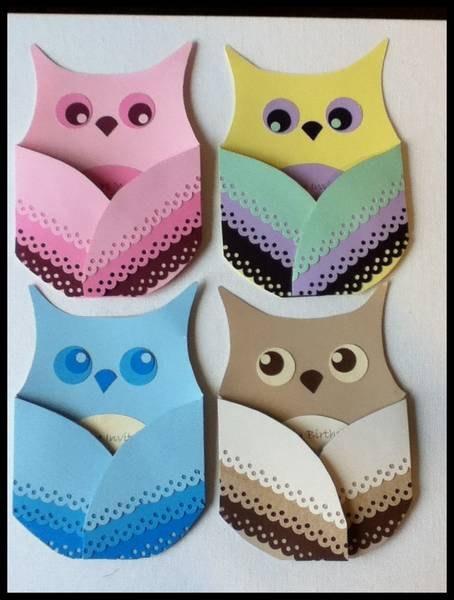 Owl Baby Shower or Birthday Invites Handmade by malistah on Etsy. $5.00 USD, via Etsy.