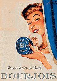 Vintage Bourjois Powder ad