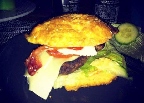 Nyttiga hamburgerbröd