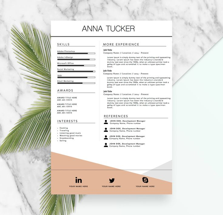 Voice Over Resume: 25+ Unique Resume Templates Ideas On Pinterest