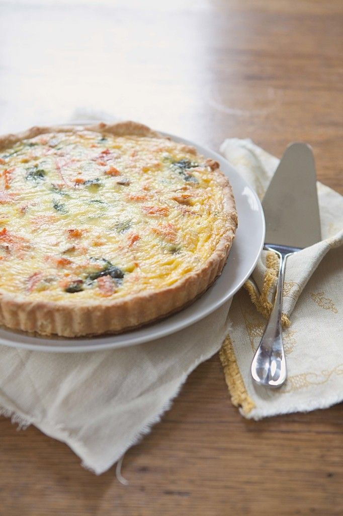 89 best quiches and savoury tart ideas images on pinterest cooking salmon quiche forumfinder Image collections