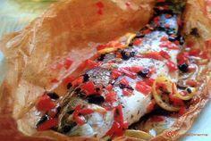 Branzino al cartoccio con peperoni una ricetta semplice da preparare, leggera e gustosa. Un secondo piatto di pesce adatto per ogni occasione...