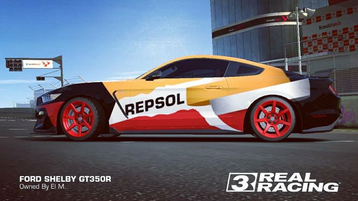 Pin By Elmonay On Real Racing 3 Shelby Gt350r Real Racing Ford
