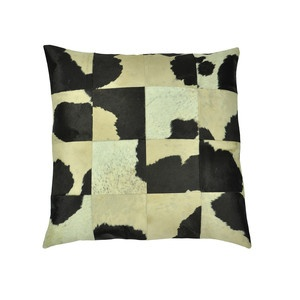 Leather Floor Pillow Cow, $85, now featured on Fab.