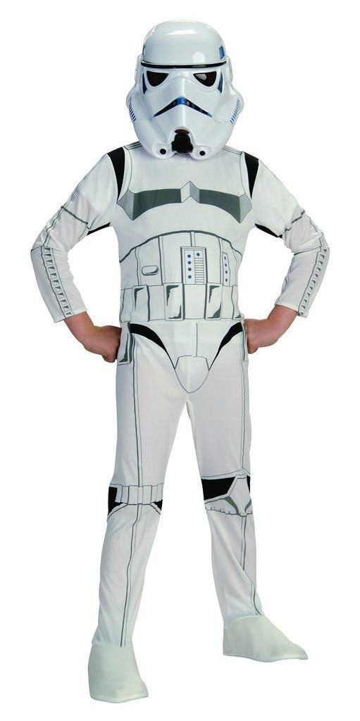 Star Wars Classic Stormtrooper Child Costume, Small.
